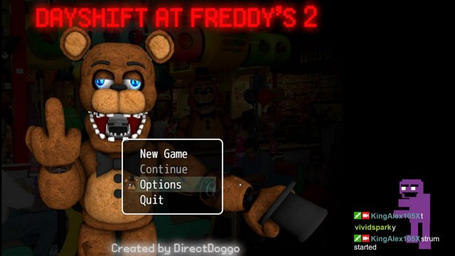 Dayshift at Freddy's 2 [Mature]
