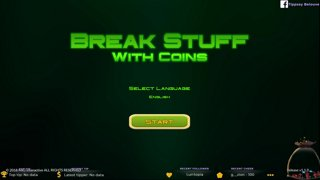 How much can you break with coins? The answer is...alot!