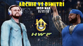 HWF: Archie Cooper Vs Dimitri (Iron Man) 11/17/18