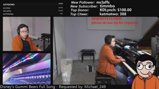 ALL THROUGH TUESDAY NIGHT Symphonic live-learned loops with The Most Keyboards On Twitch