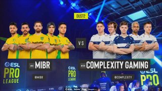 [PT-BR] MIBR vs. compLexity | ESL Pro League 2019 | Dia 13 - [Mapa 1 - DUST2]