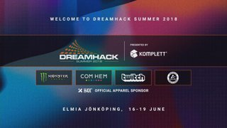 Sodapoppin live on Dreamhack hosting a tournament full of idiots