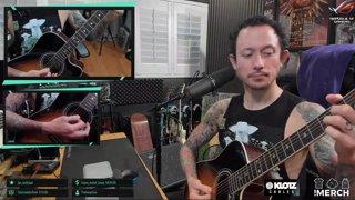 Matt Heafy (Trivium) - Iron Maiden - Fear Of The Dark I Acoustic Cover