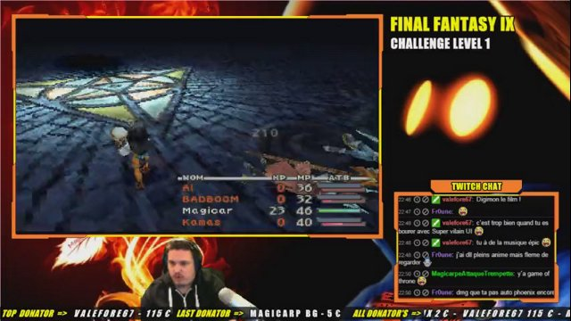 FF9 - CHALLENGE LEVEL 1 - 19em boss : Arkh
