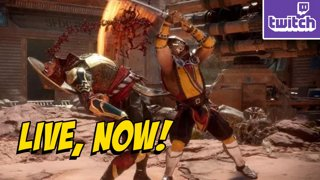 MK11 with YoVideogames - Practice For Tournament (3-30)