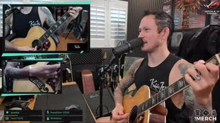 Matt Heafy (Trivium) - The Office - People Persons Paper People | Acoustic Cover