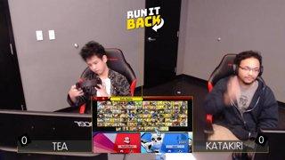 Run It Back - Tea (Pac Man) vs Katakiri (Mii Gunner) Losers 8s - Smash Ultimate Singles