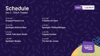 TwitchCon 2018 - Glitch Theater - Day 2 - Part 2