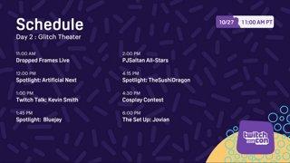 TwitchCon 2018 - Glitch Theater - Day 2 - Part 1