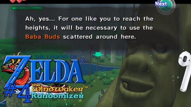 Zelda Windwaker randomizer: Airpod deafness [4]