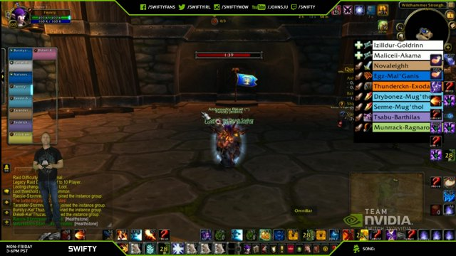 Swifty Using the NVIDIA SHIELD to play WoW