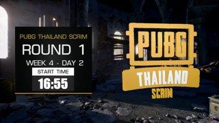 PUBG Thailand Scrim - Week 4 Day 2 !pts !teams !winner !คิดคะแนน !กิจกรรมth
