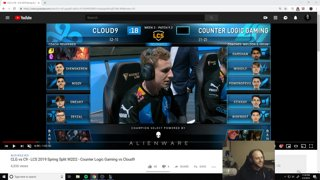 Cloud 9 vs CLG vod Review