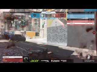 Acer CGPL Autumn 2017 CoD:IW  - Rd2. Validate VS Prodigy