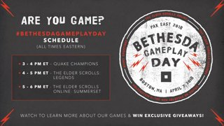 Bethesda Gameplay Day @ PAX East