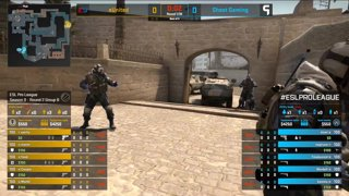 [PT-BR] eUnited vs. Ghost | ESL Pro League 2019 | Dia 16 - [Mapa 1 - MIRAGE]