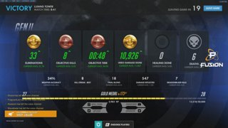 Unranked to GM - Genji only - YOSH