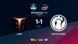 3 ESL One Birmingham 2019 - Ehome vs IG - bo3 by @LighTofHeaveNX