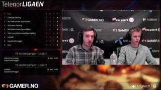 Telenorligaen høsten 2015: League of Legends Runde 2 - nDurance Gaming vs. SupaGoatSmuggla - Kamp 1