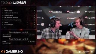 Telenorligaen runde 2: League of Legends - nDurance Gaming vs. SupaGoatSmuggla. Kamp 2