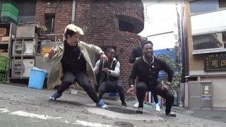 Random Street Dance Collaboration w/ French Dancers
