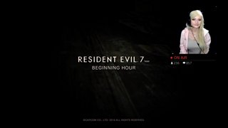 resident evil 7 panic and first death AHH