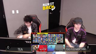 Run It Back - Tea (Pac Man) vs TGG | LunickTMM (Bowser) Losers Round 5 - Smash Ultimate Singles