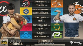 Week 4 Day 2 | LCS Spring Split (2019)