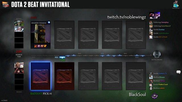 BEATesports - Blacksoul vs Noblewingz - Dota 2 BEAT Invitational Season 8 - Twitch