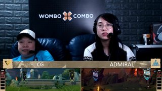 [FIL] ADMIRAL vs CLUTCH GAMER | Game 2 | Lower Bracket R2 | King's Cup 2: Southeast Asia - Group Stage