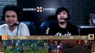 [FIL] TNC vs Invictus Gaming | Game 1 | Asia Pro League | Upper Bracket Finals