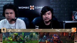 [FIL] TNC 2 vs 0 Invictus Gaming | Game 2 | Asia Pro League | Upper Bracket Finals