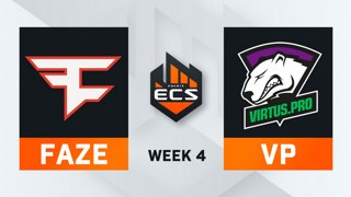 FaZe vs Virtus.Pro - Map 2 - Overpass (ECS Season 7 - Week 4 - DAY1)