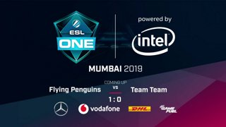 Flying Penguins vs Team Team - Game 2 - NA Qualifier - ESL One Mumbai 2019