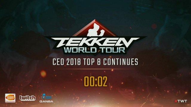 Tekken 7: Alpha Red | Book vs. UYU | Jeondding - CEO 2018 - Top 8