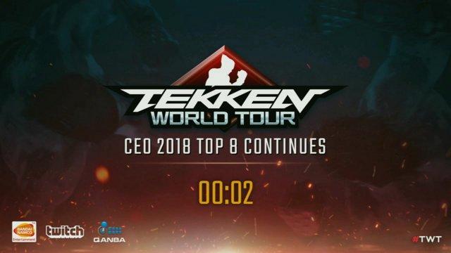 Tekken 7: EchoFox | JDCR vs. UYU | Jeondding - CEO 2018 - Losers Finals