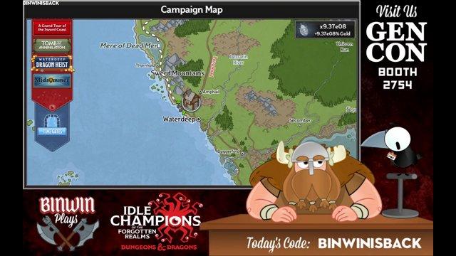 Episode 37 - Binwin Plays Idle Champions