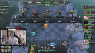 IRL STREAMER DOMINATES TWITCH RIVALS DOTA AUTO CHESS TOURNAMENT jnbS - !Schedule !Jake !Discord !YouTube - Follow @JakenbakeLIVE