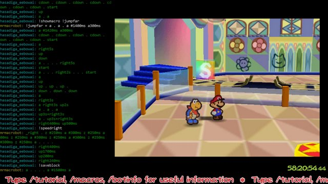 (TwitchPlays_Everything) Twitch Plays Paper Mario N64 Playthrough Part 3 -  We beat Chaper 4 (General Guy), Twink Stop Humping the Book, The Cake,  Gourmet Guy, Chill Out, a new Star Spirit Power!,