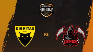 Dignitas vs Demise - Dust 2 - Group A - DreamHack Showdown Valencia 2019