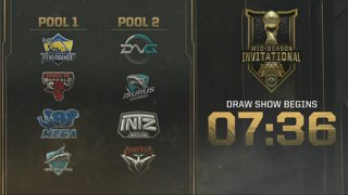 MSI 2019 Play-In Draw Show
