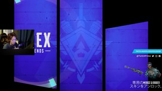 APEXRANK Champion 3kill 842dmg Go_Tsukisima Twitch_shomaru7