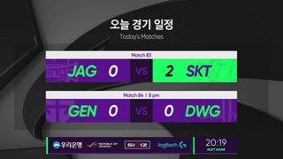 [2019 스무살우리 LCK Spring Split]  JAG vs. SKT - GEN vs. DWG