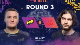 BLAST Pro Series Moscow - Round 3 - Na'VI vs. AVANGAR