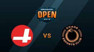 Cr4zy vs Chaos - Mirage - Group B - DreamHack Open Summer 2019