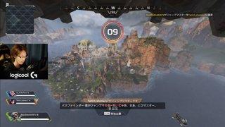 APEX チーム25killChampion 6kill 1591dmg パスファインダー  Go_Tsukisima Twitch_shomaru7