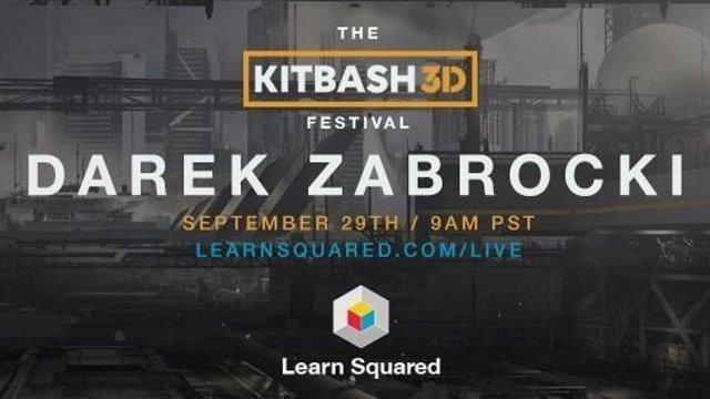 The KitBash3d Festival with Darek Zabrocki // September 29 @ 9am PDT