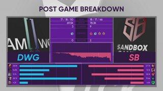 LCK Spring: DWG vs. SB - AF vs. JAG