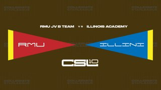 2018 Fall W3 LoL- Robert Morris JV B vs Illinois Academy (Game 1)