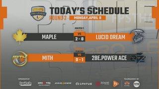 CS:GO Pro League Season#6 Maple vs. Lucid Dream   MiTH vs. 2Be.Power Ace